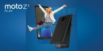 Moto Z3 play launch