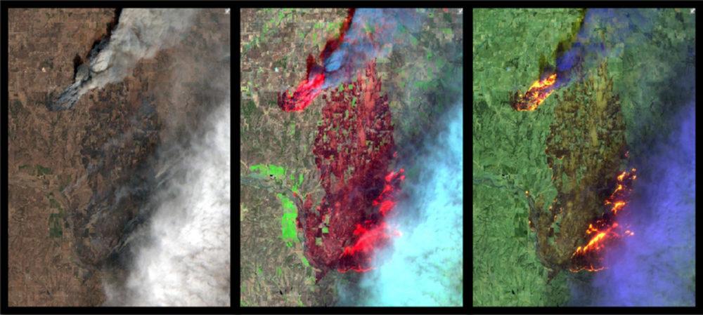 Obrazy multispektralne Esri
