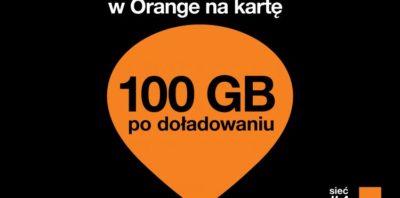 Orange 100GB