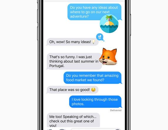 ios12 memoji chat
