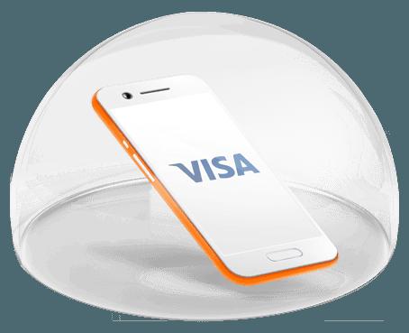 karta visa w telefonie small