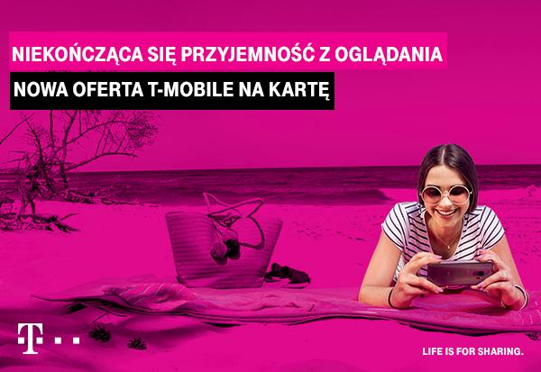 T Mobile Na Karte.T Mobile Na Kartę Bez Limitów Video Czyli Niekończąca Się