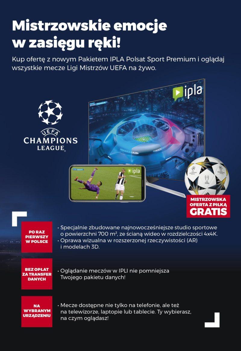 Pakiet IPLA POLSAT SPORT PREMIUM