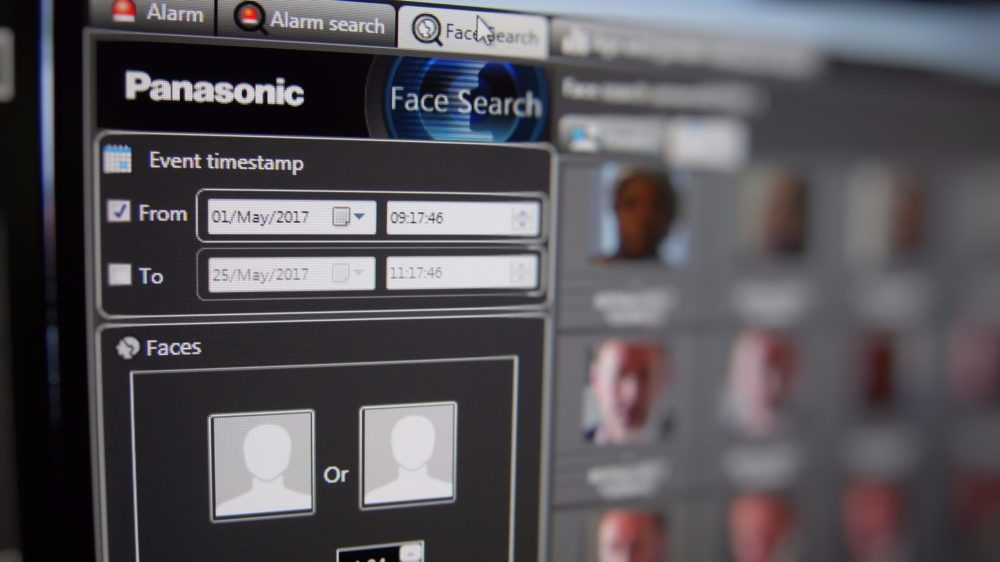 Panasonic   face matching software