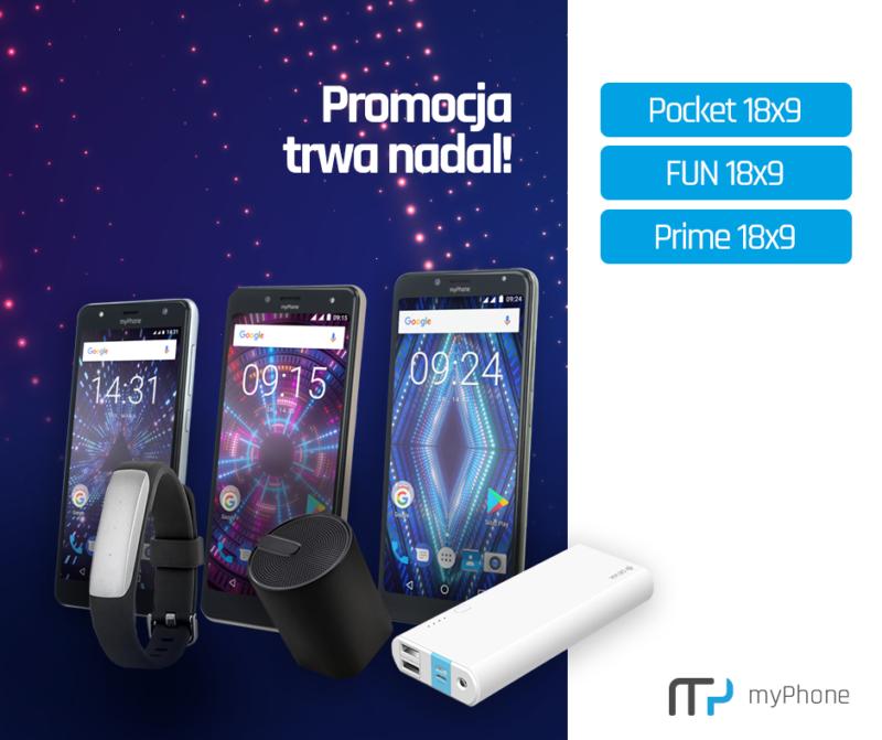 Promocja myPhone 18x9