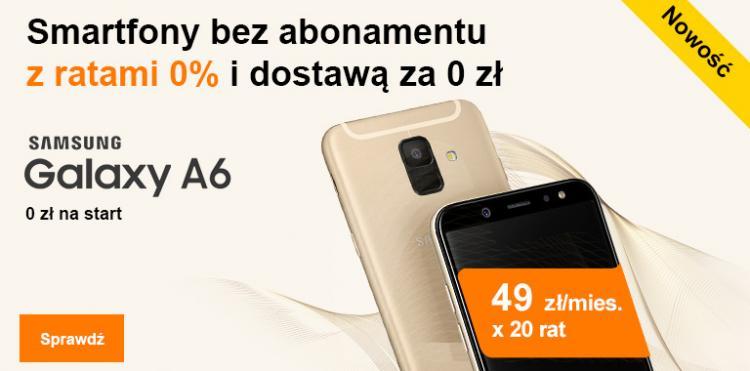 Smartfony bez abo Orange