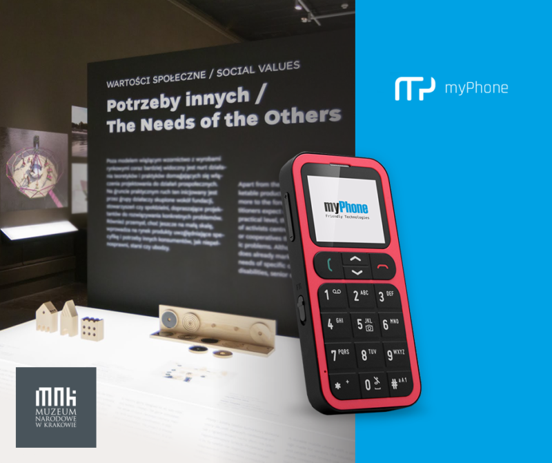 Wystawa Polski Dizajn po roku 1989 myPhone ONE