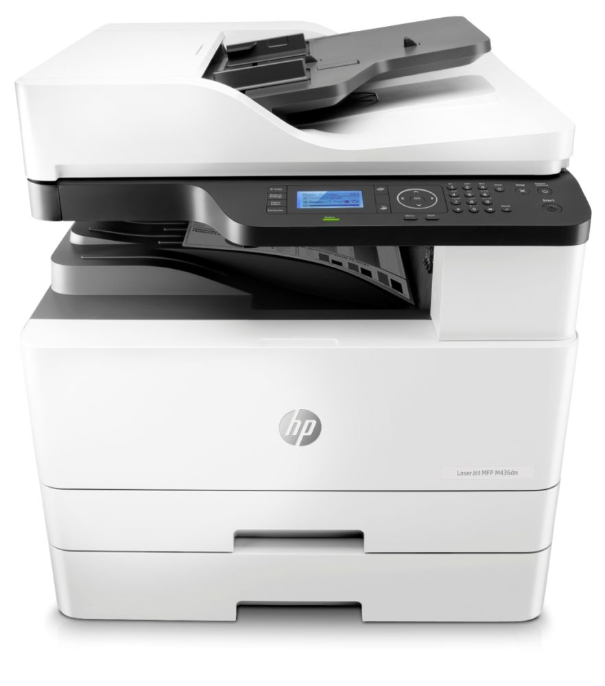 m436dn center paper xtray adf