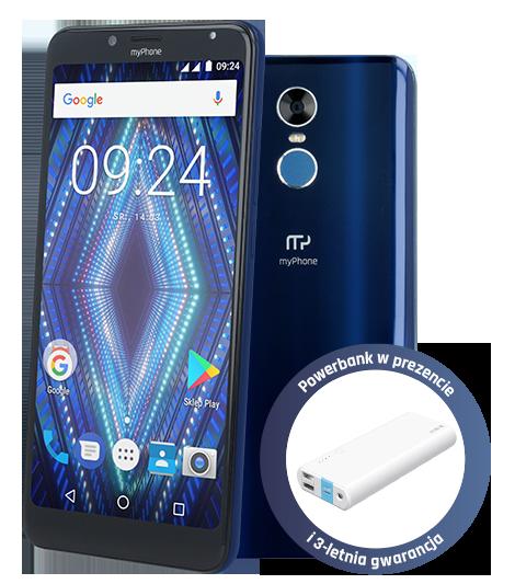 myPhone Prime 18x9 powerbank