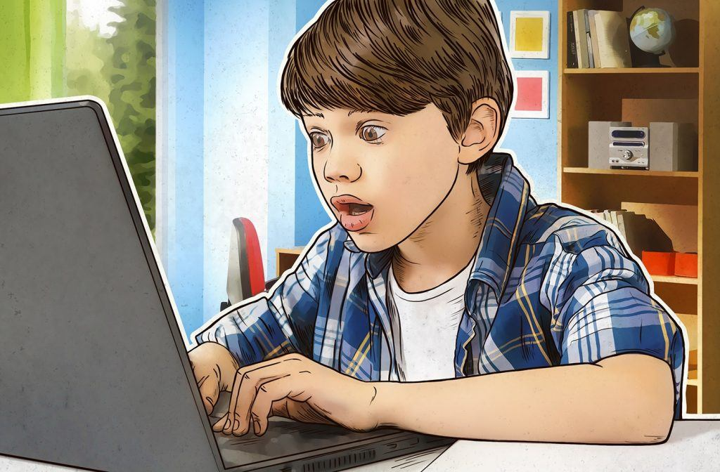 what kids search online featured