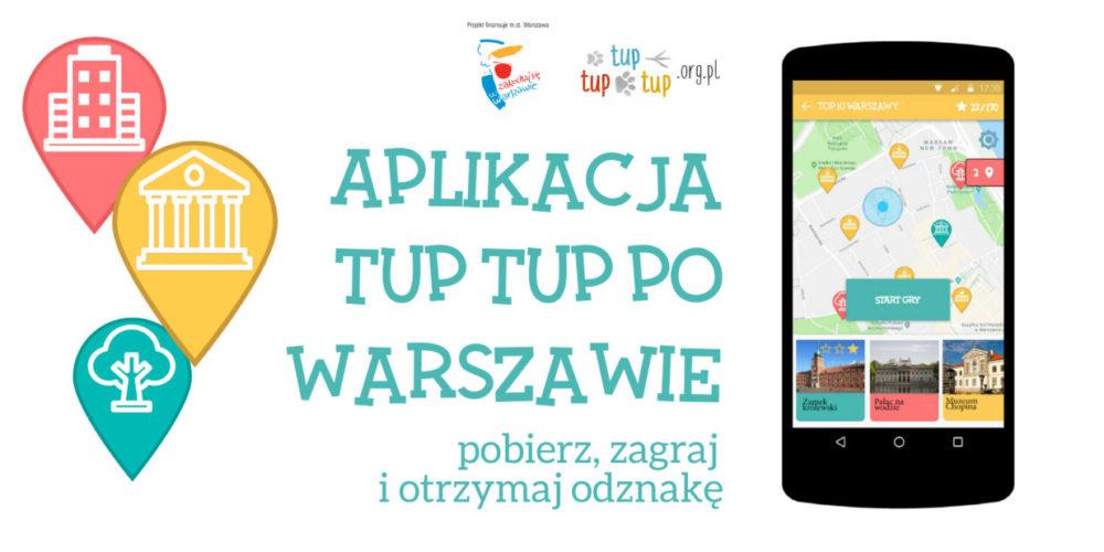 Aplikacja Tup tup po warszawie