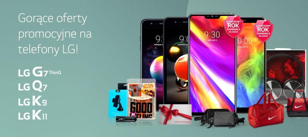 Promocje LG mobile