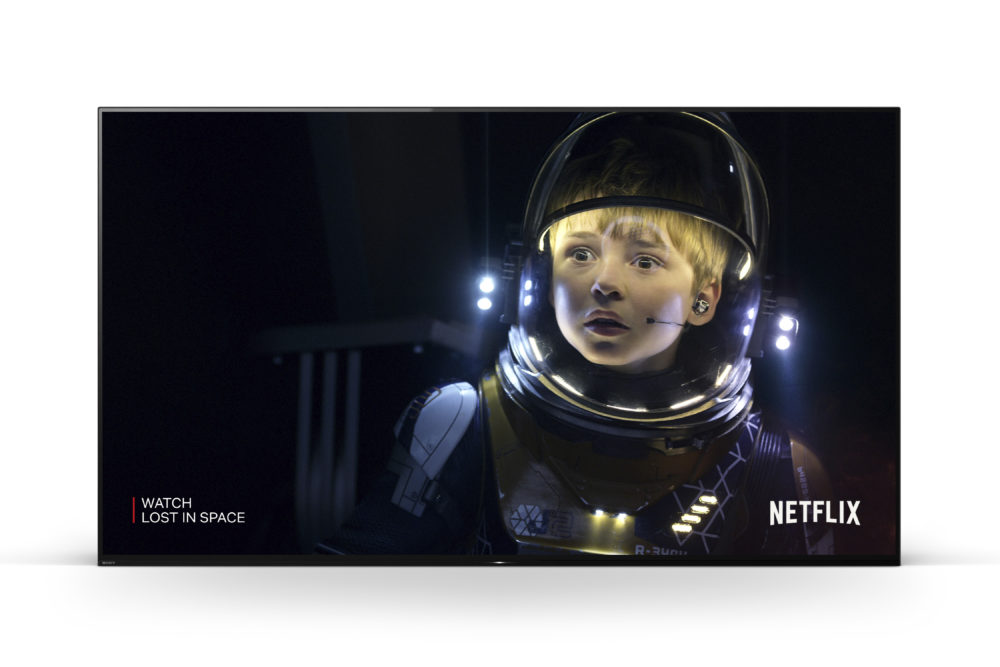 Sony AF9 Netflix Lost in Space