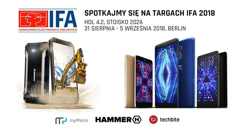 Targi IFA 2018 myPhone HAMMER