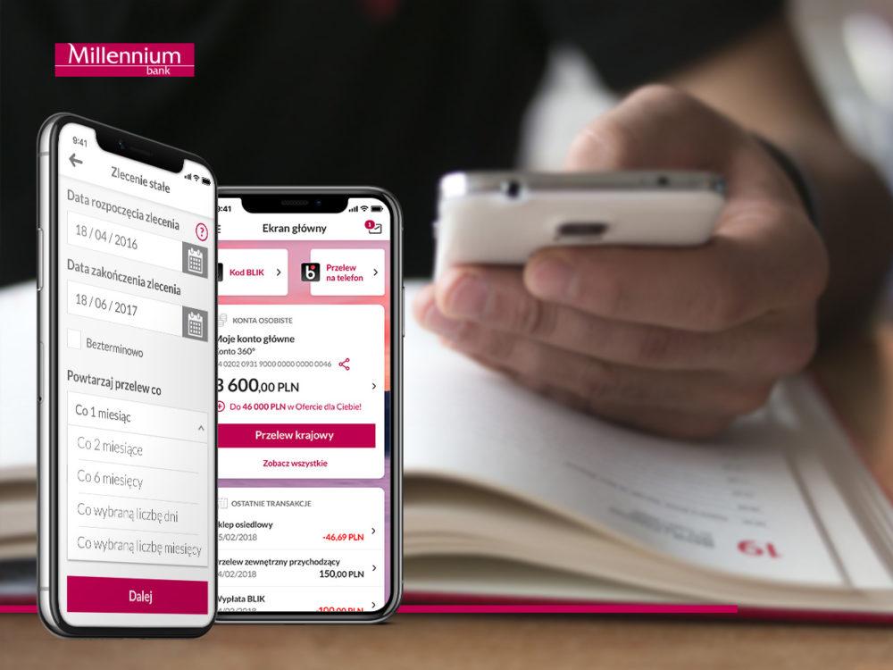Zlecenie stałe aplikacja mobilna