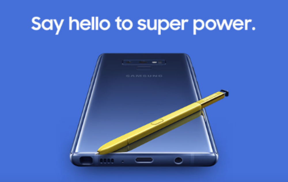 galaxy note 9 launch