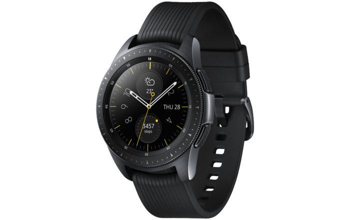 galaxy watch perspective midnight black