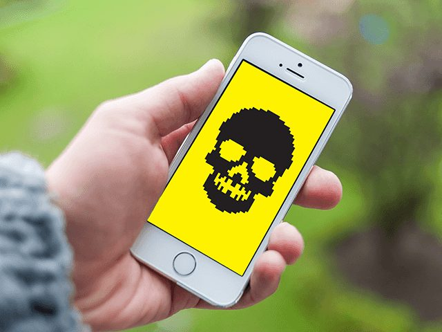 iphone. malware