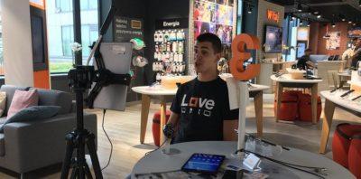 wirtualny salon orange