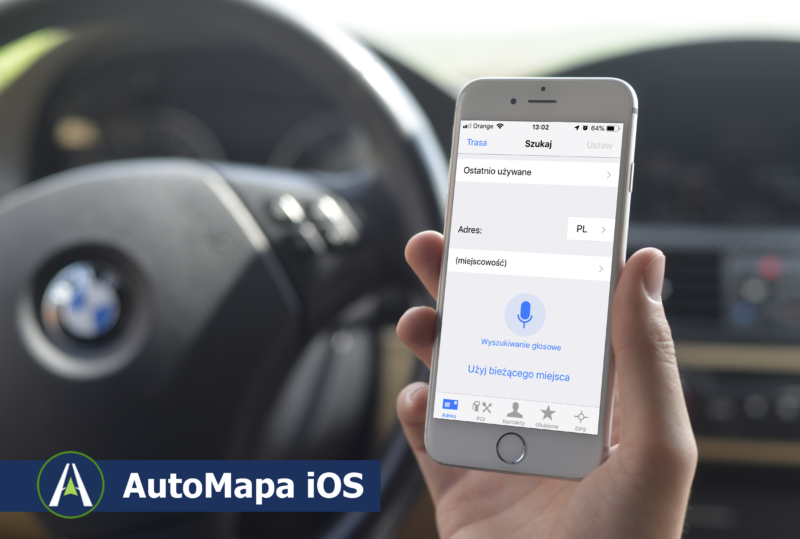 AutoMapa iOS 2