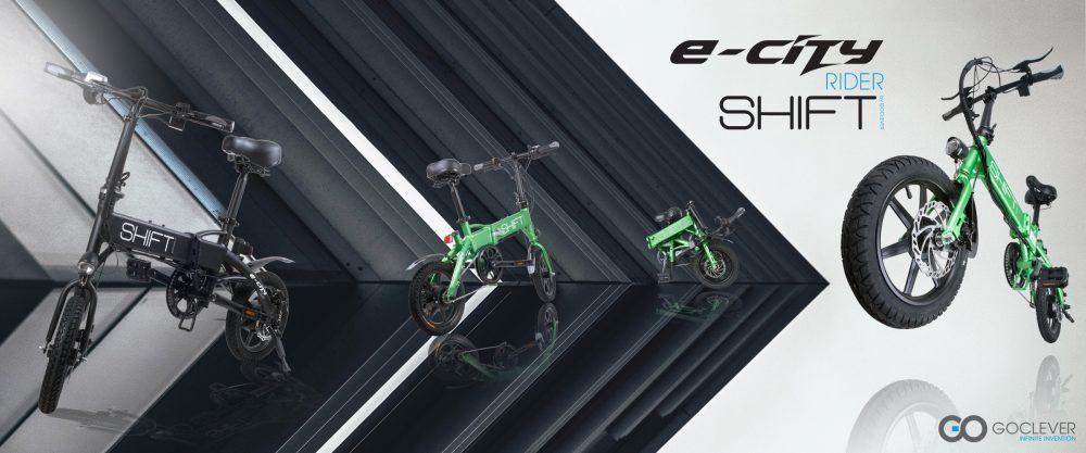 Goclever rower elektryczny banner