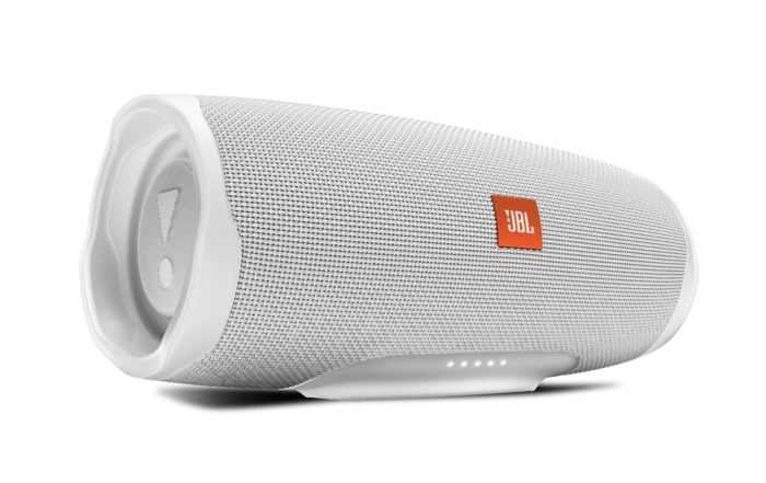 JBL Charge 4 Front Steel White