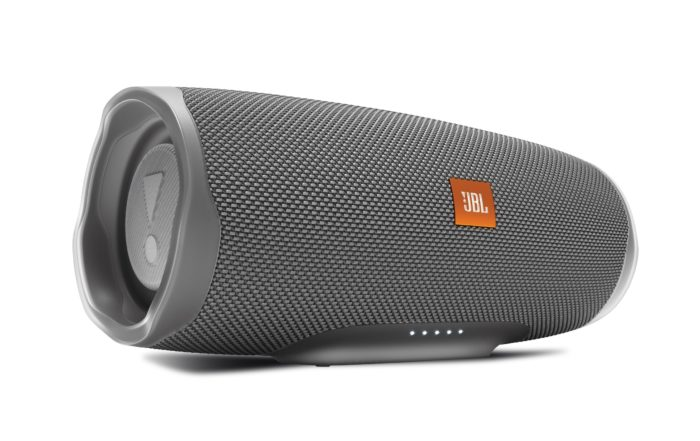JBL Charge 4 Front Stone Gray