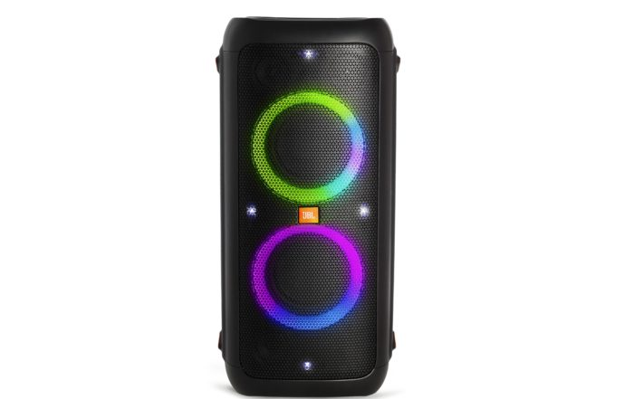JBL Party Box 300 Front with Lights