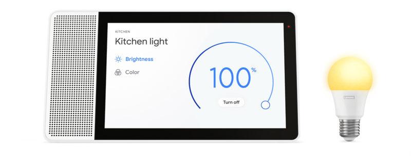 Lenovo Smart Display with Lenovo Smart