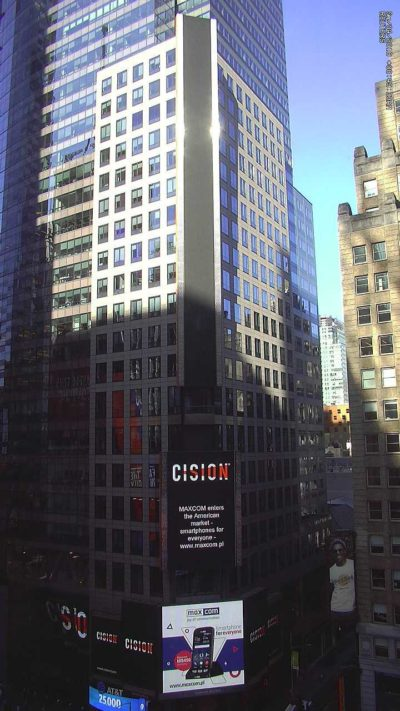 Maxcom na Times Square