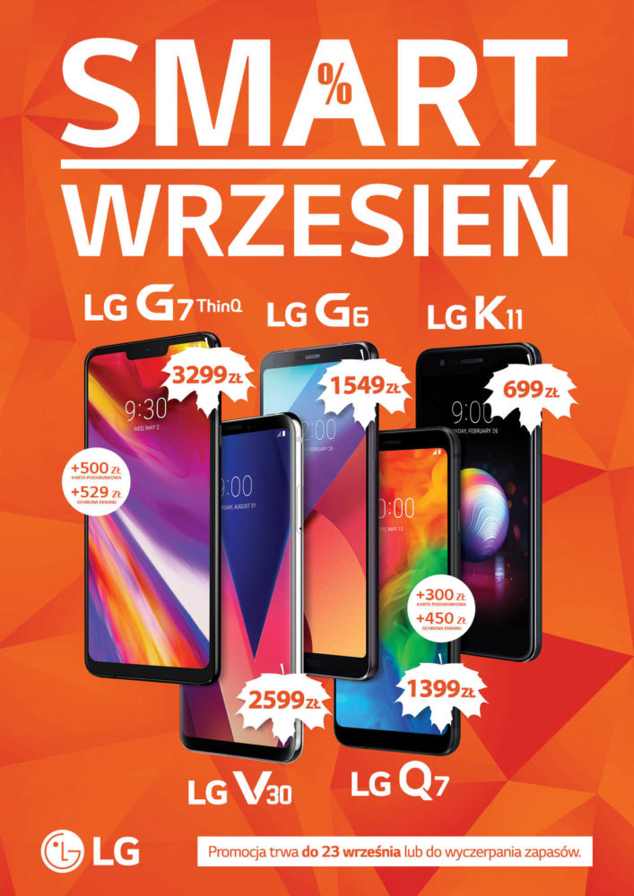 Promocja LG Smart Wrzesień