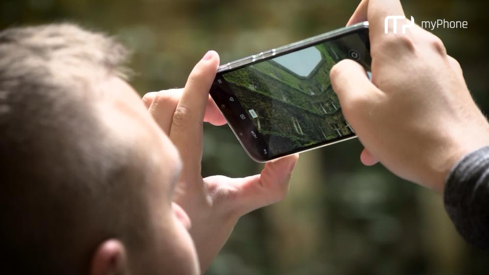 Spacer fotograficzny z myPhone Prime 18x9 LTE