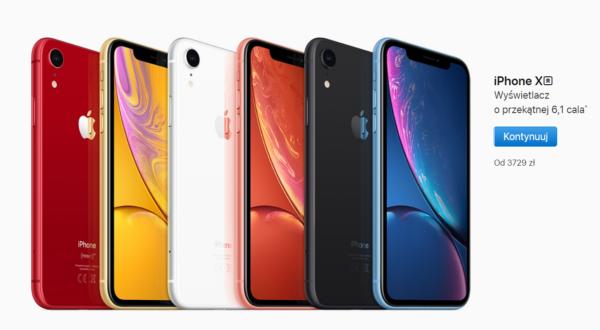 iPhonexr ceny