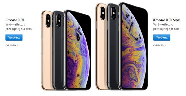 iPhonexs ceny