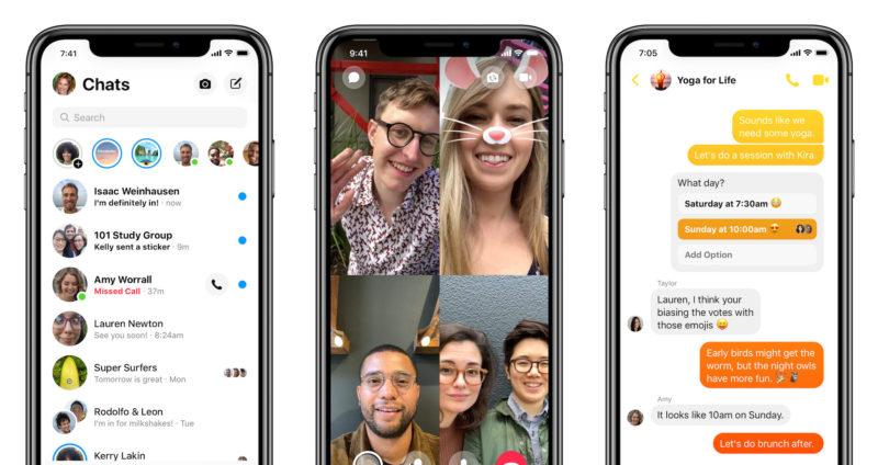 Nowa aplikacja Messenger od Facebook