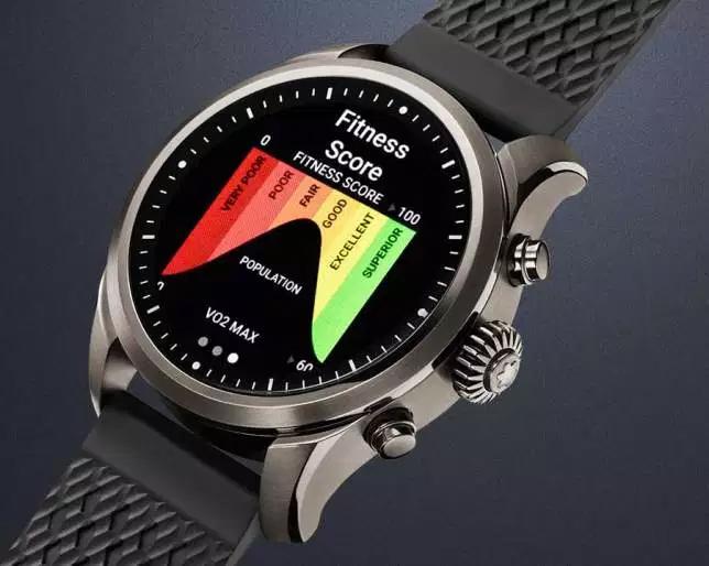 Montblanc Summit 2 pierwszy zegarek MontBlanc z chipem qualcomm