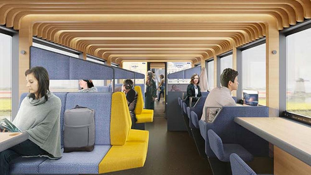 W Holandii chcą przekształcić pociągi w miejsce do pracy