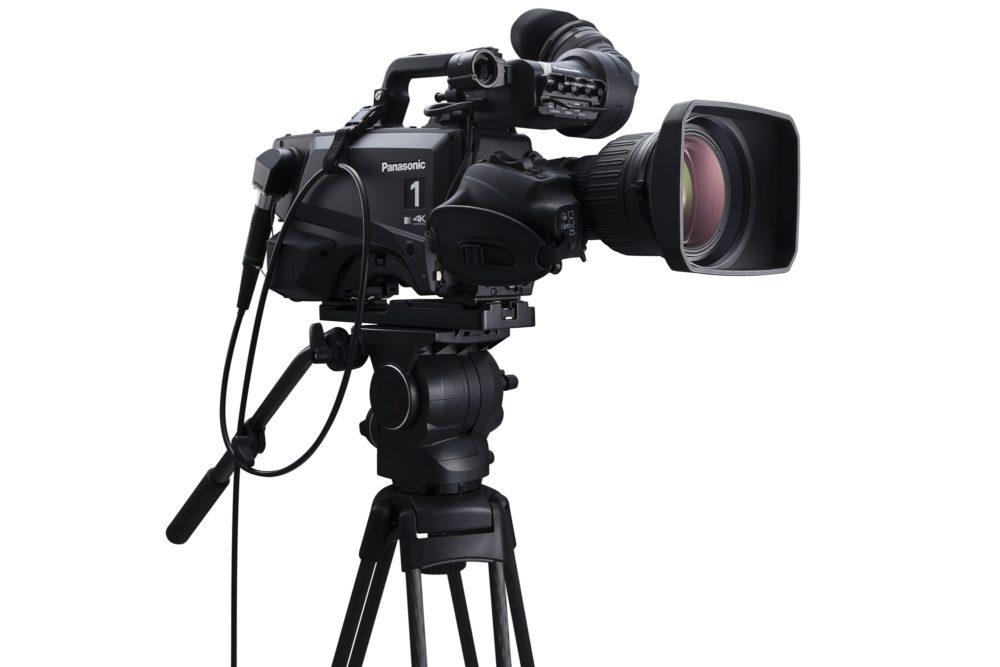 Kamera studyjna Panasonic zintegrowana zjednostką sterującą Videosys AK-UC4000