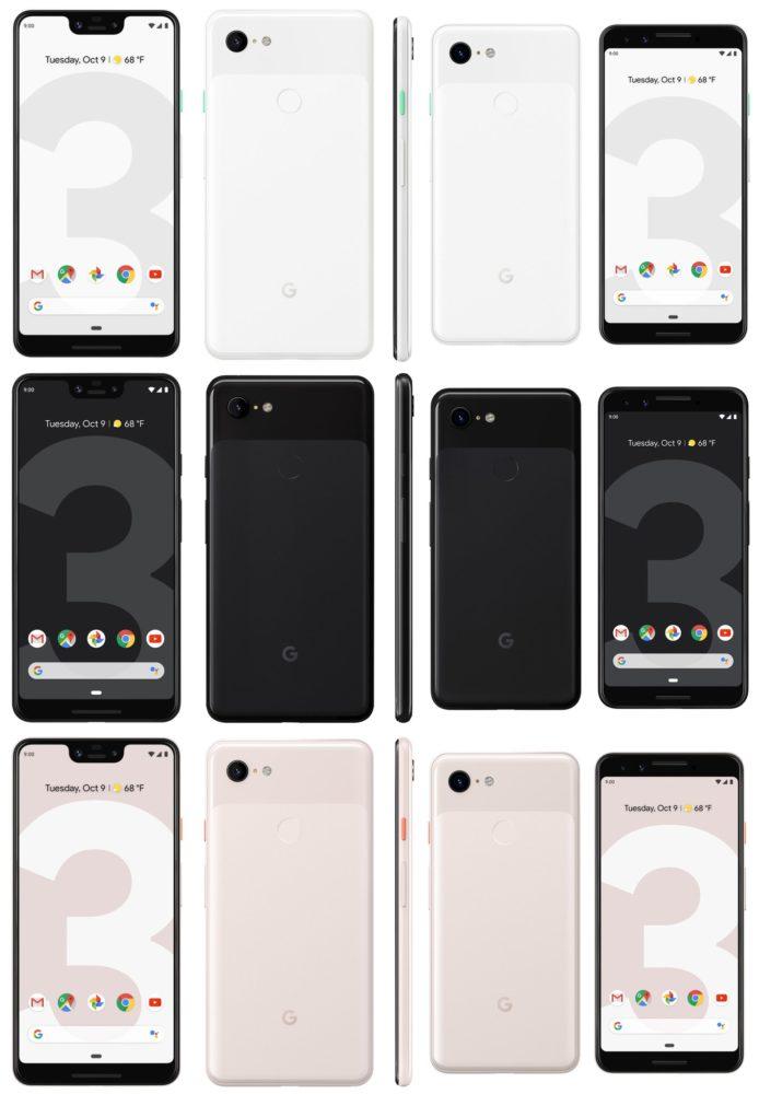 google pixel 3 i 3 xl pixel