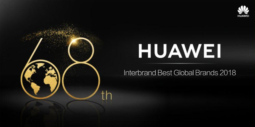 Huawei zajmuje 68 miejsce w rankingu Interbrand Best Global Brands 2018 1