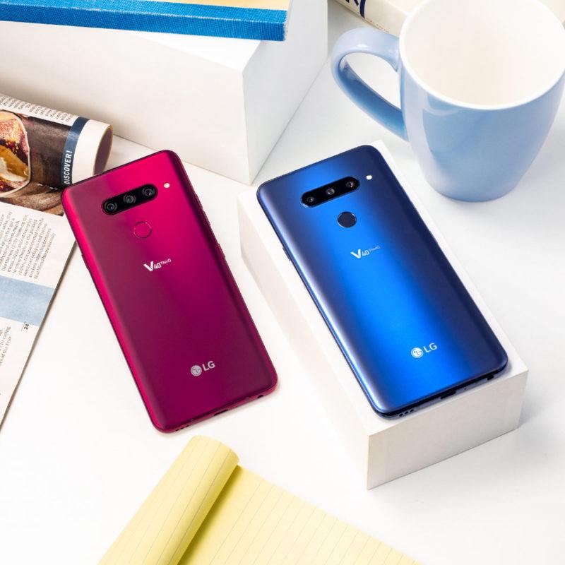 nowy smartfon LG V40 ThinQ