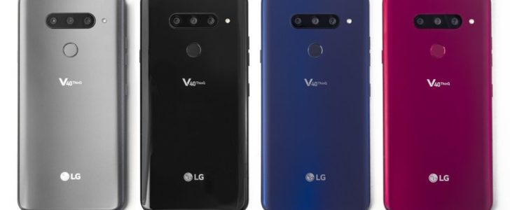 LG V40 ThinQ is announced with five cameras three at the back two at the front