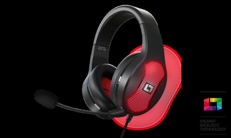 Lioncast LX30 – premiera słuchawek z podświetleniem RGB