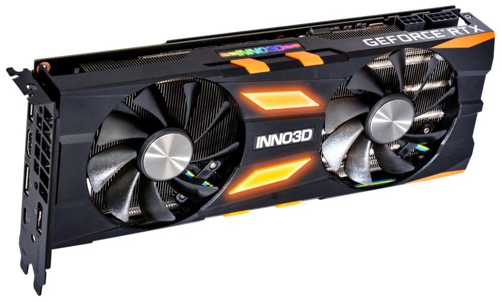 INNO3D wprowadza karty GeForce RTX 2070