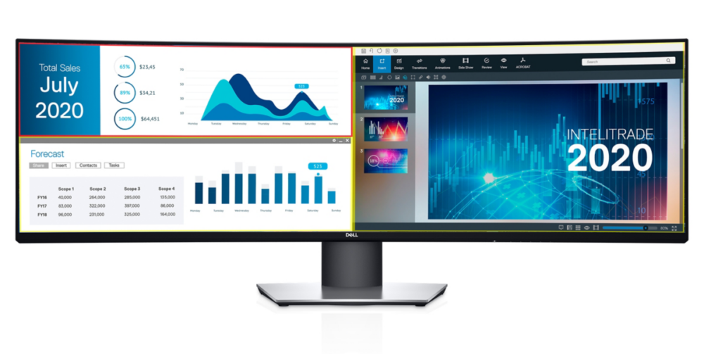49-calowy monitor – UltraSharp U4919DW
