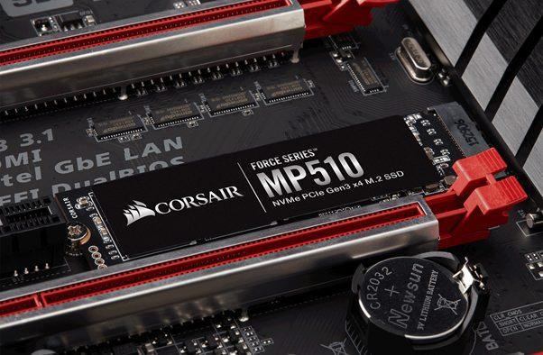 CORSAIR wprowadza do oferty nowy dysk SSD M.2 PCIe NVMe z serii Force