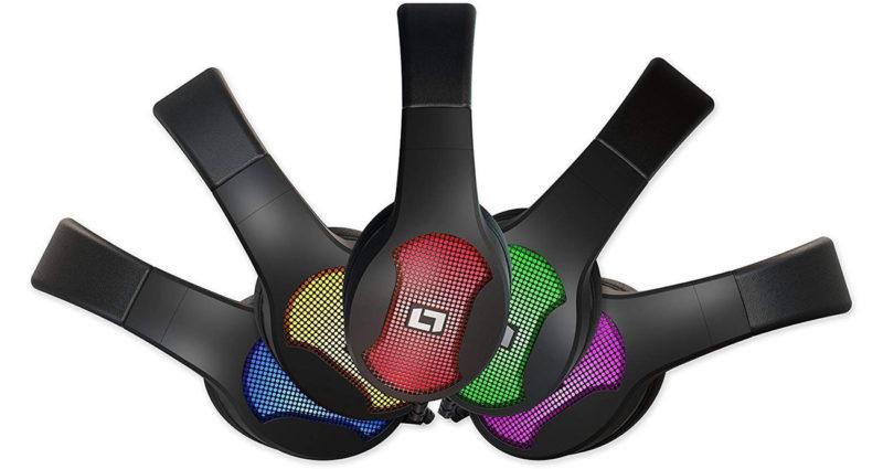 Nowe słuchawki od niemieckiego producenta Lioncast LX30 z podświetleniem RGB różne kolory