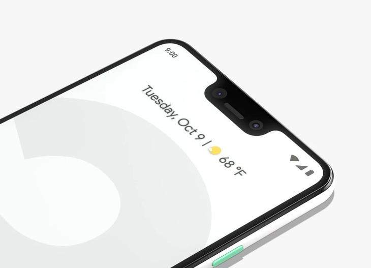 przednia kamera do selfie google 3