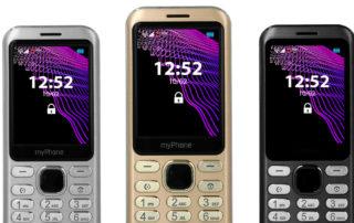 myPhone Maestro nowy klasyczny telefon