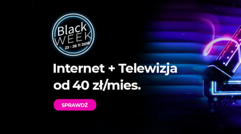 BLACK FRIDAY W NETII – PAKIET INTERNET Z TV ZA MNIEJ NIŻ 40 ZŁ!